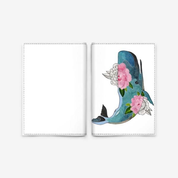 Обложка для паспорта «Кашалот»