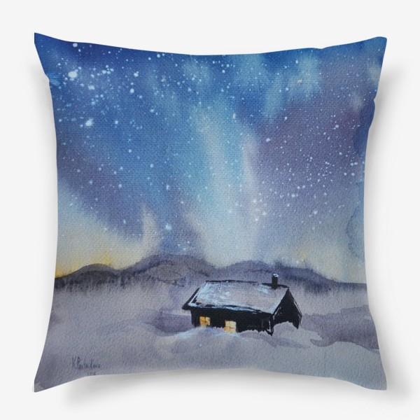Подушка «Северная ночь»