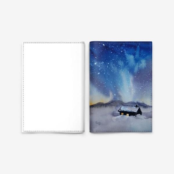 Обложка для паспорта «Северная ночь»
