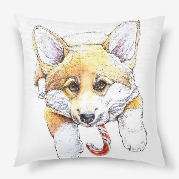 Подушка «Щенок корги»