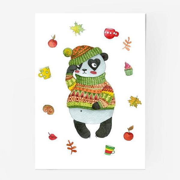 Постер «Панда. Осень»