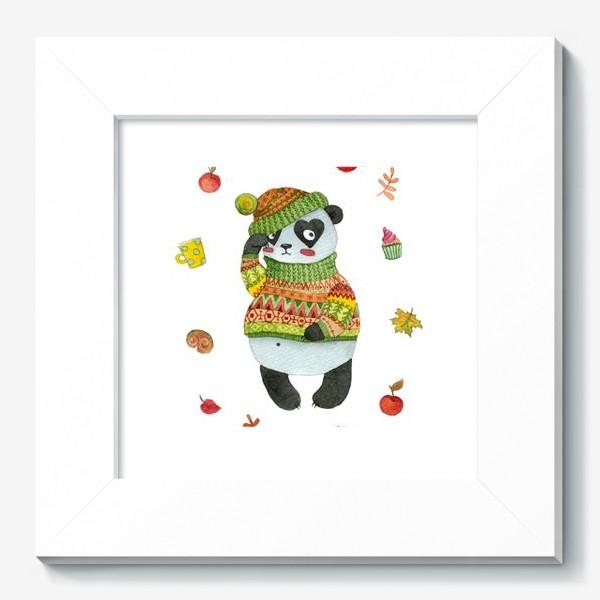 Картина «Панда. Осень»