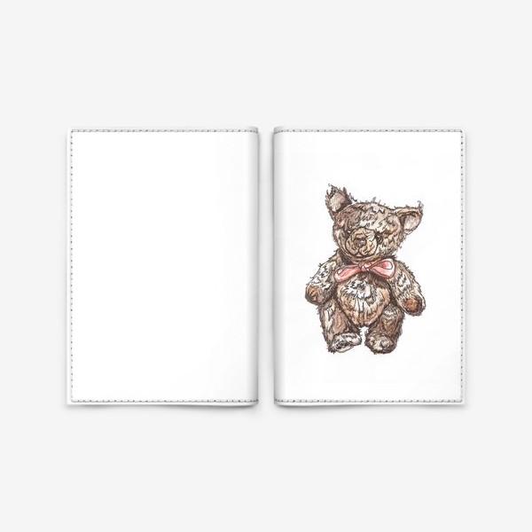 Обложка для паспорта «Плюшевый Мишка»