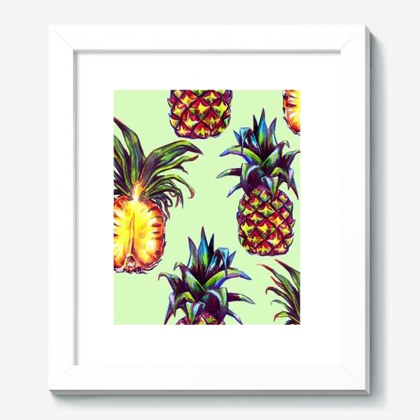Картина «ананасы»