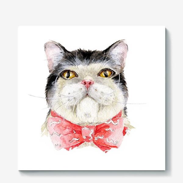 Холст «Кот. Мурзик»