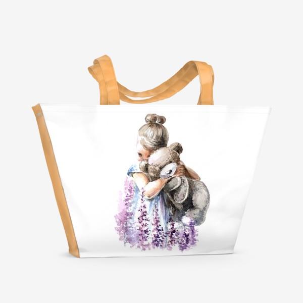 Пляжная сумка «Машка + Мишка»