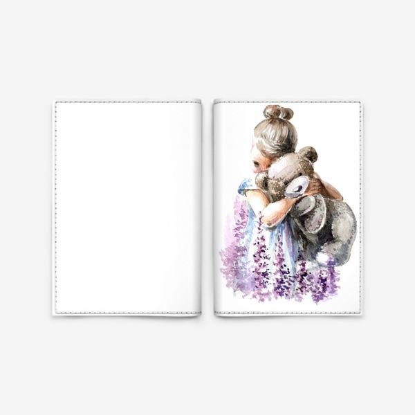 Обложка для паспорта «Машка + Мишка»