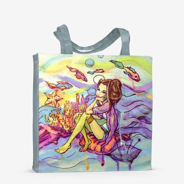 Сумка-шоппер «Морское дно»