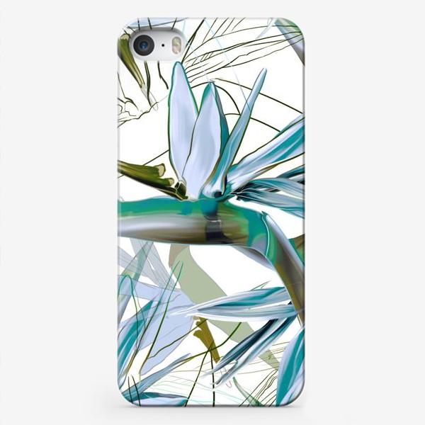 Чехол iPhone «Тропические цветы»