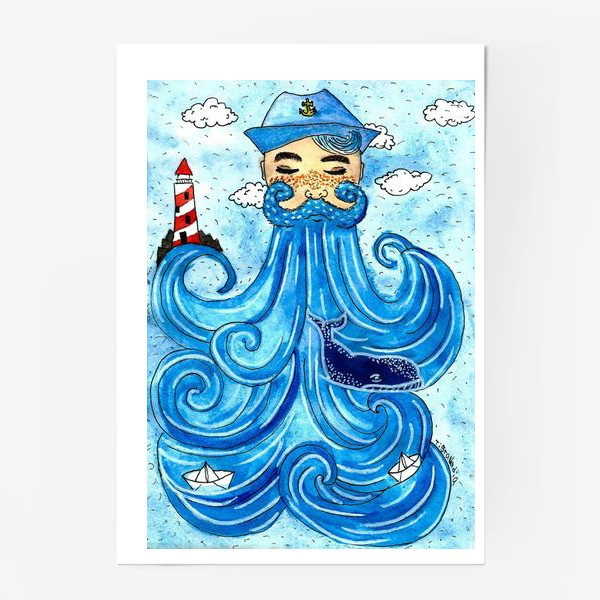 Постер «дядя море»