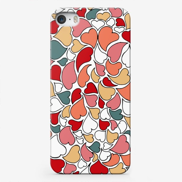 Чехол iPhone «I love you more and more»