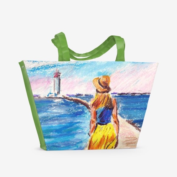 Пляжная сумка «Sea breeze»