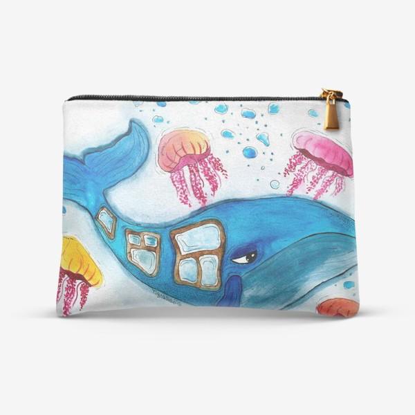 Косметичка «оконный кит»
