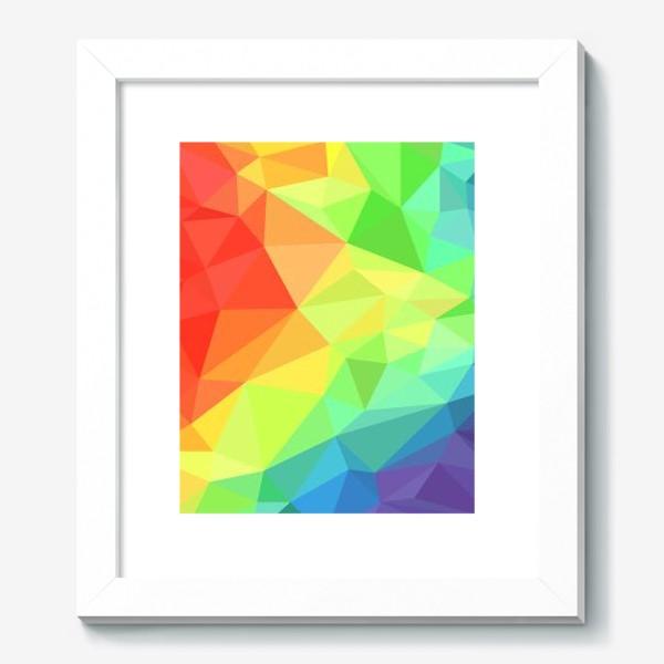 Картина «Poligonal Rainbow»