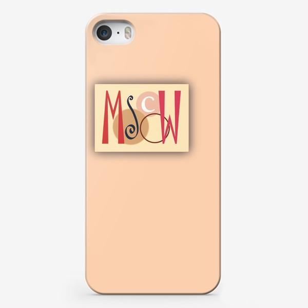 """Чехол iPhone «""""Moscow""""»"""
