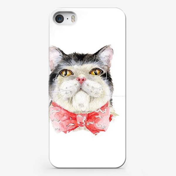 Чехол iPhone «Кот. Мурзик»