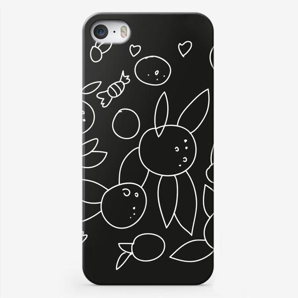 Чехол iPhone «Фрукты и конфеты»