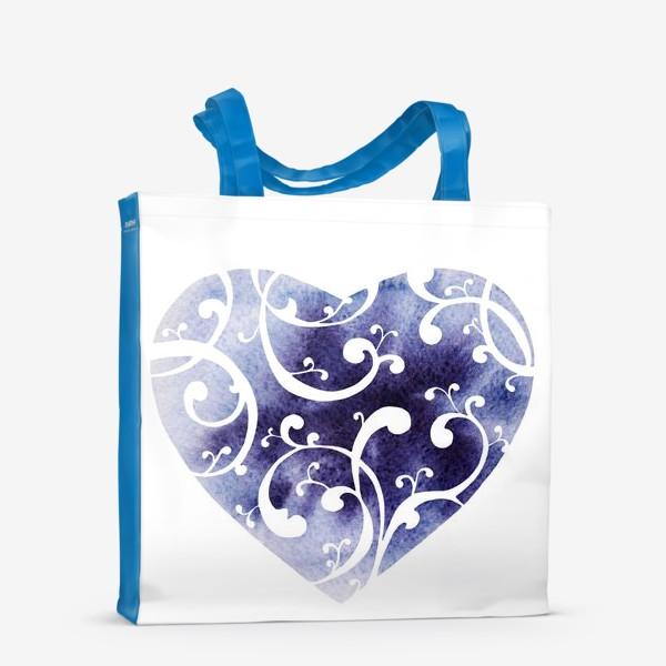 Сумка-шоппер «Чернильное сердце»