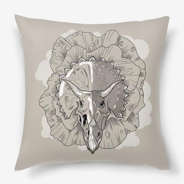 Подушка «Трицератопс»