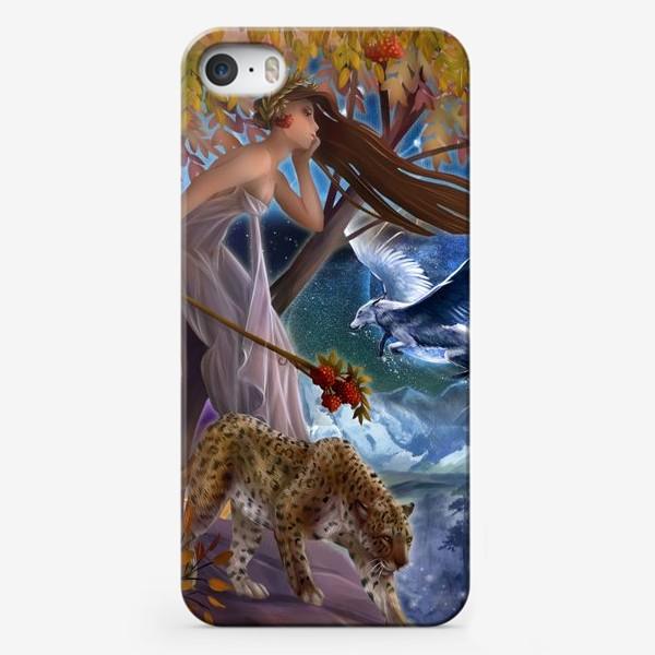 Чехол iPhone «Нимфа, фея»