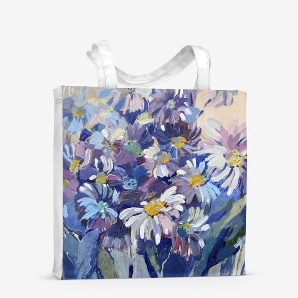 Сумка-шоппер «Цветы-ромашки»