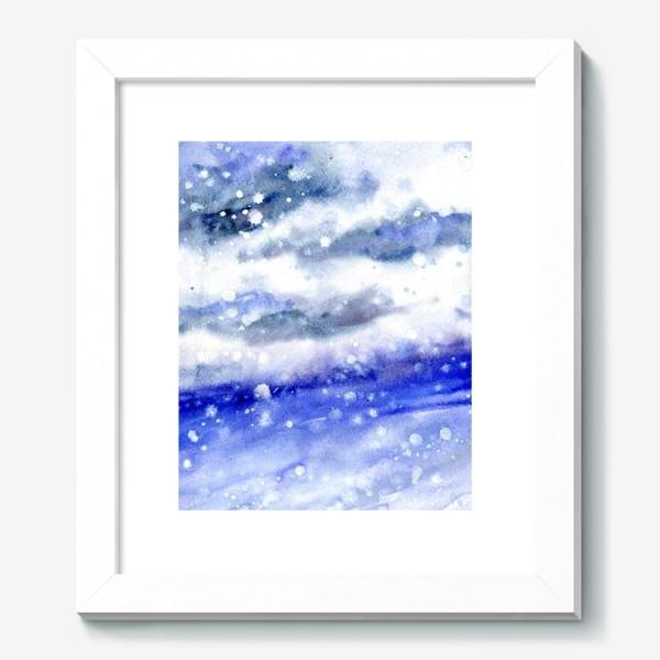 Картина «Снег»