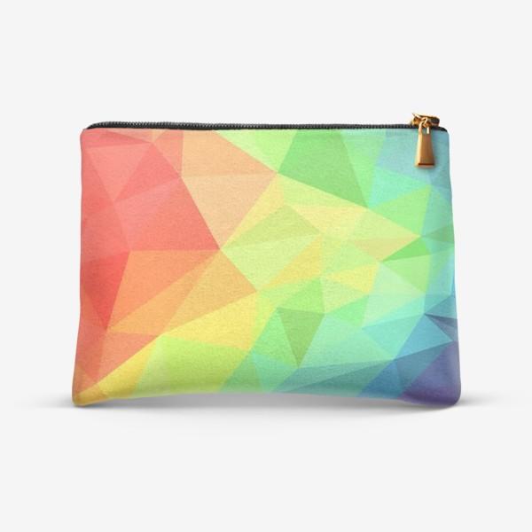 Косметичка «Poligonal Rainbow»