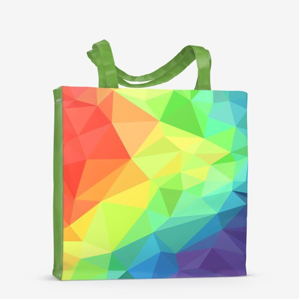 Сумка-шоппер «Poligonal Rainbow»