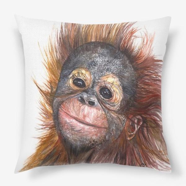 Подушка «Детёныш орангутанга»