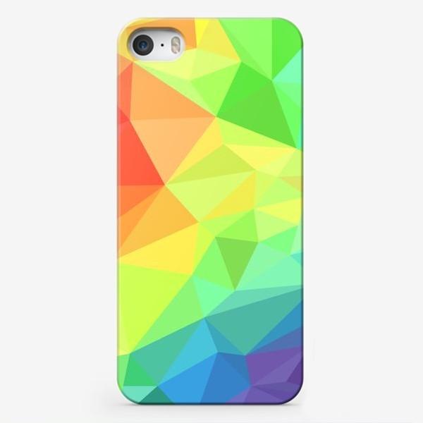 Чехол iPhone «Poligonal Rainbow»