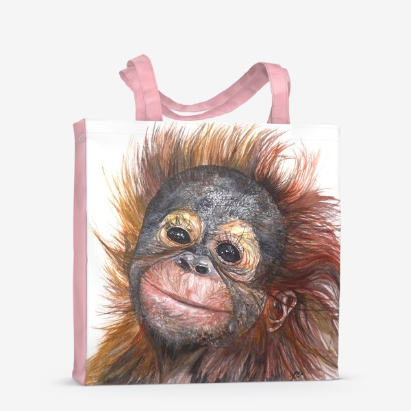 Сумка-шоппер «Детёныш орангутанга»