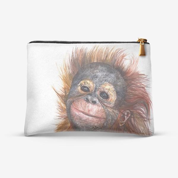 Косметичка «Детёныш орангутанга»