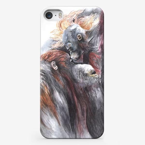Чехол iPhone «Орангутанги»