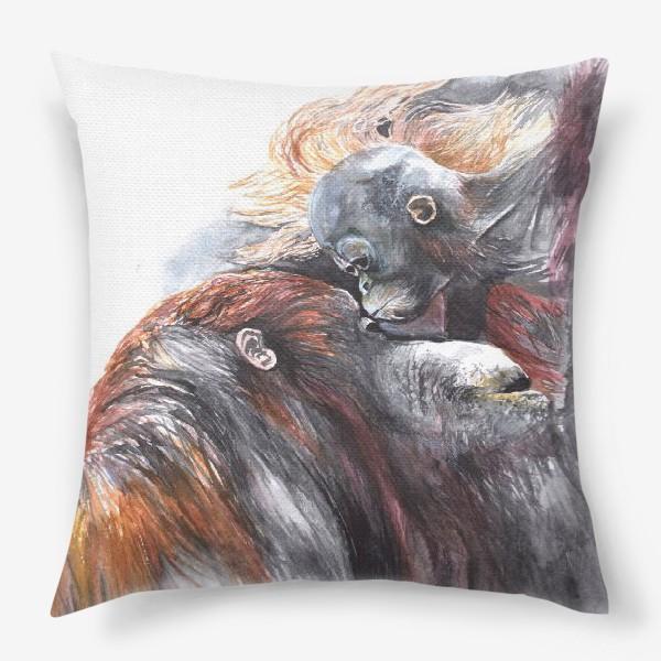 Подушка «Орангутанги»