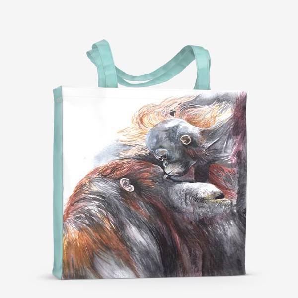 Сумка-шоппер «Орангутанги»