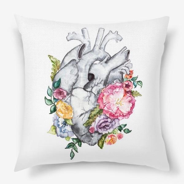 Подушка «Расцветает любовь»