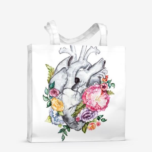 Сумка-шоппер «Расцветает любовь»