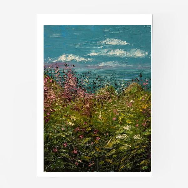 Постер «Морское побережье»