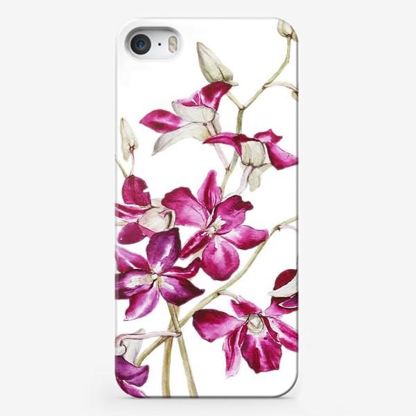 Чехол iPhone «Орхидеи»