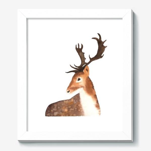 Картина «Олень. The Deer.»