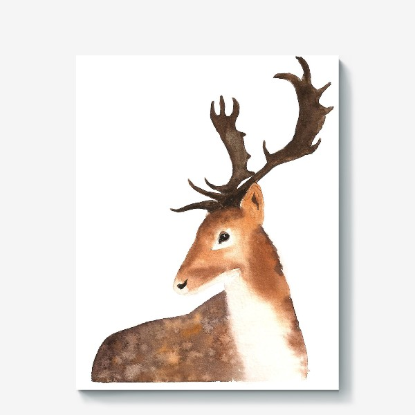 Холст «Олень. The Deer.»