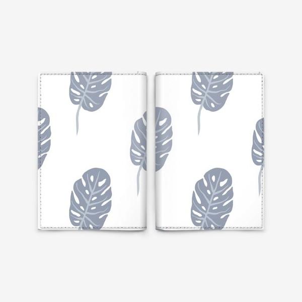 Обложка для паспорта «Delicate Jungle (minimal)»