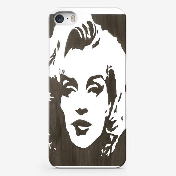 Чехол iPhone «Мэрлин Монро »