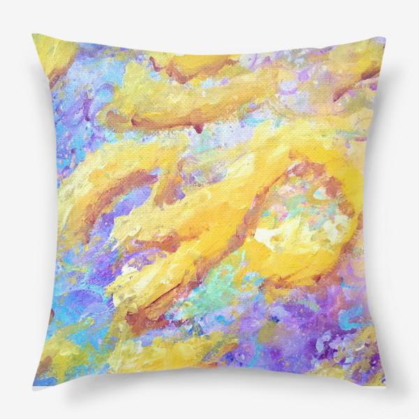 Подушка «Импрессионный Ом»
