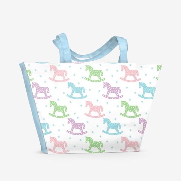Пляжная сумка «Лошадки»