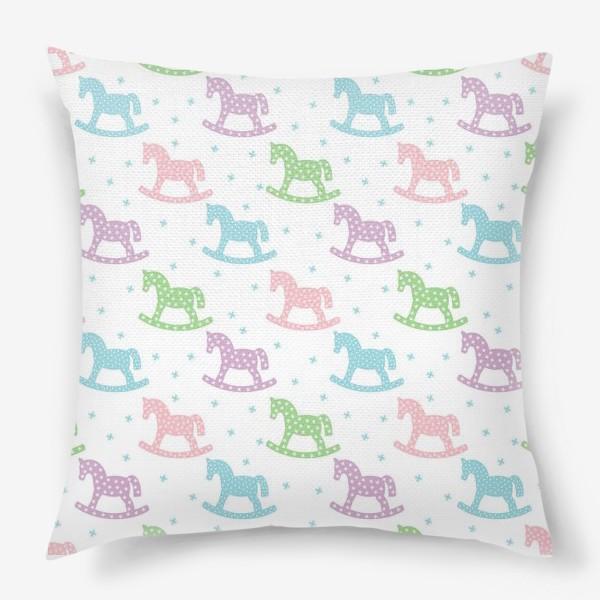 Подушка «Лошадки»