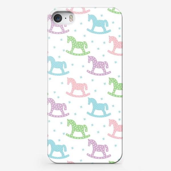 Чехол iPhone «Лошадки»