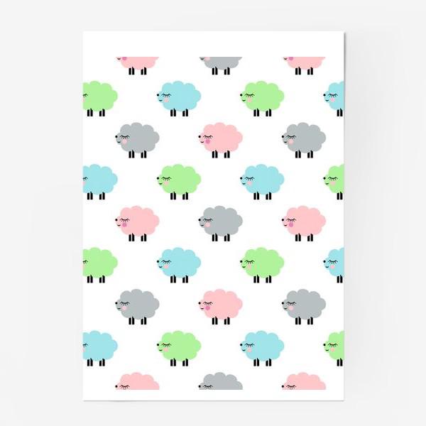 Постер «овечки»