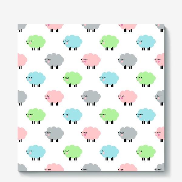 Холст «овечки»