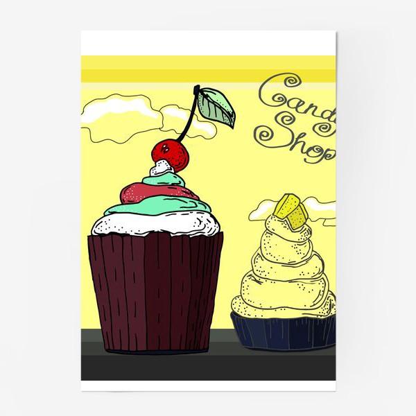 Постер «Кексы для сладкой жизни»